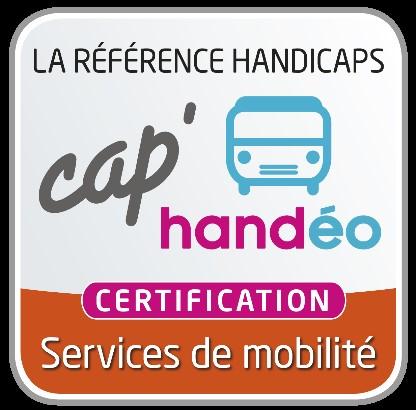 SYNERGIHP Grand-Est Obtient La Certification CAP'HANDEO Services De Mobilité.